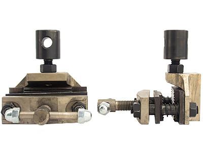 Захват тисочный с волновыми вставками (до 5 кН)